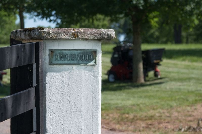 "Gatepost to ""Maplewood"" image. Click for full size."