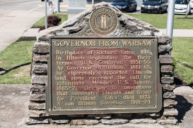 Governor From Warsaw Marker image. Click for full size.