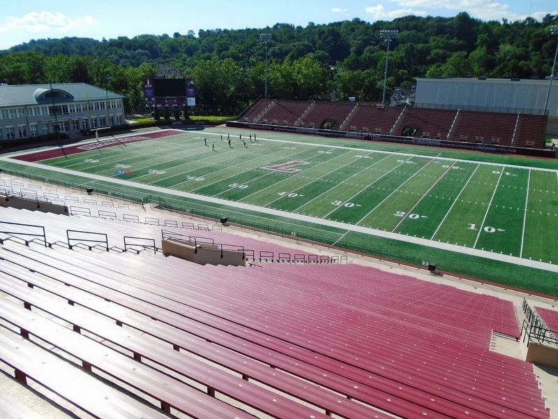 Fisher Stadium image. Click for full size.