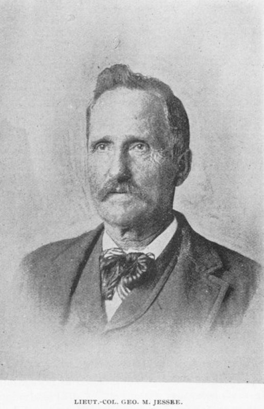 Lieutenant Colonel George M. Jessee, CSA (1832-1896) image. Click for full size.