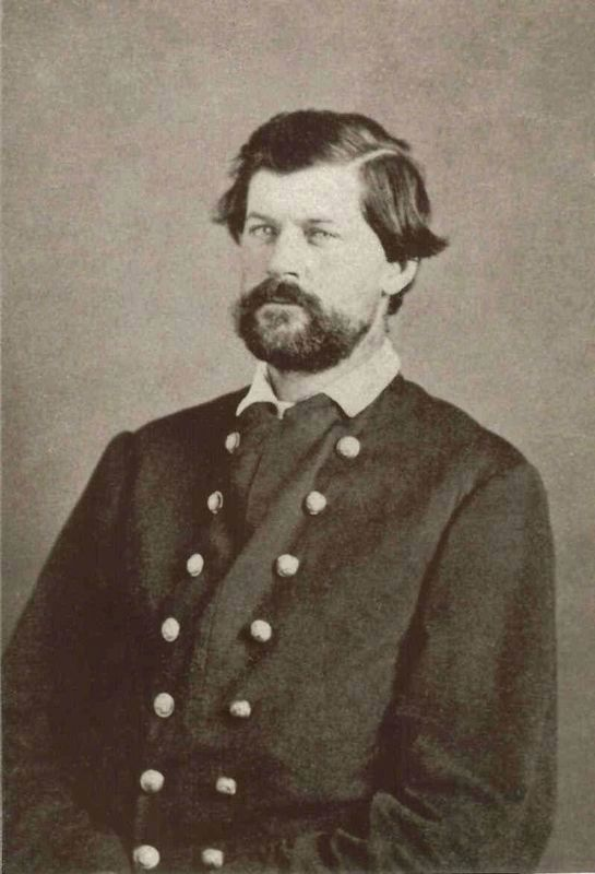 Major James H. Bridgewater, USA (1835-1867) image. Click for full size.