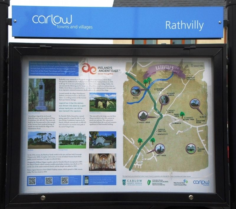 Rathvilly Marker image. Click for full size.