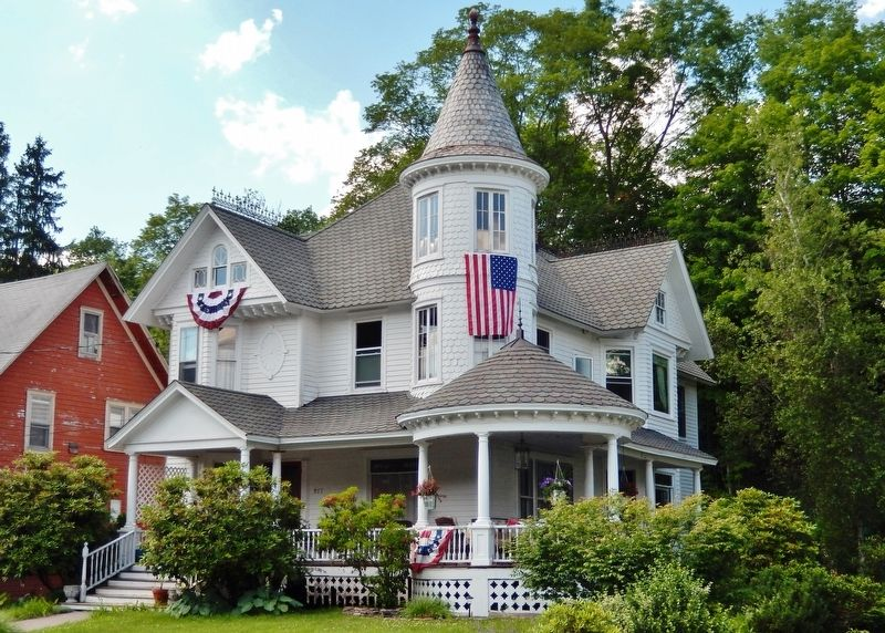 Victorian mansion on Main Street near marker image. Click for full size.