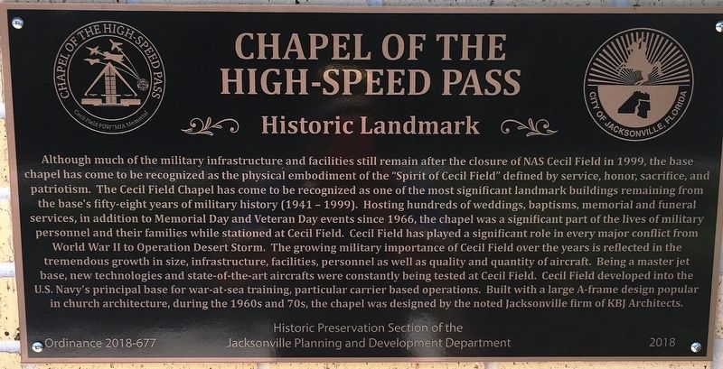Chapel of the High-Speed Pass Marker image. Click for full size.