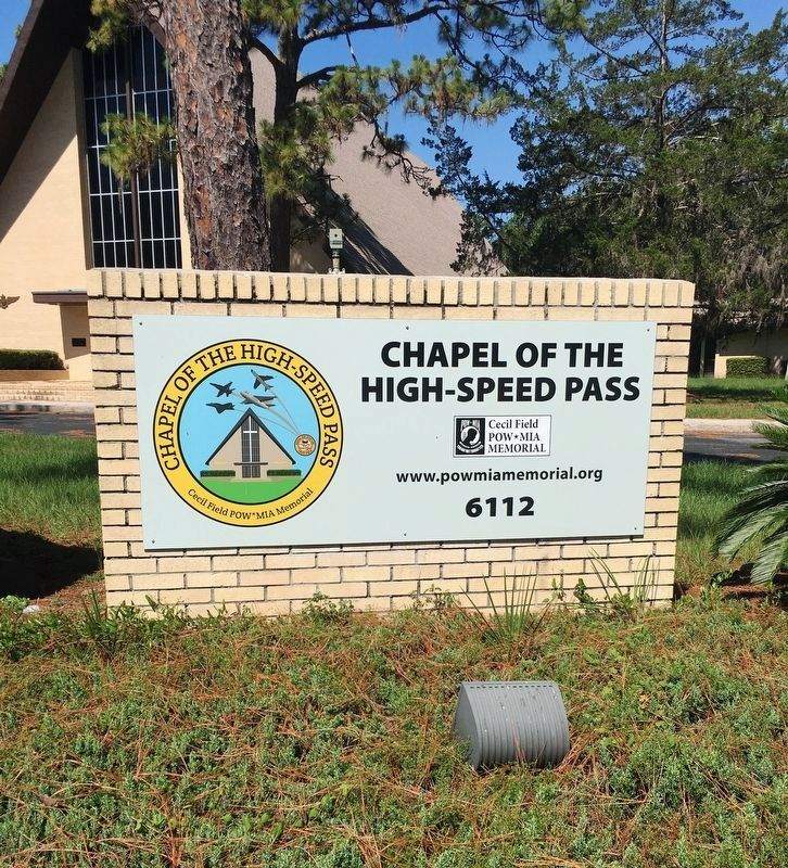 Chapel of the High-Speed Pass Sign image. Click for full size.