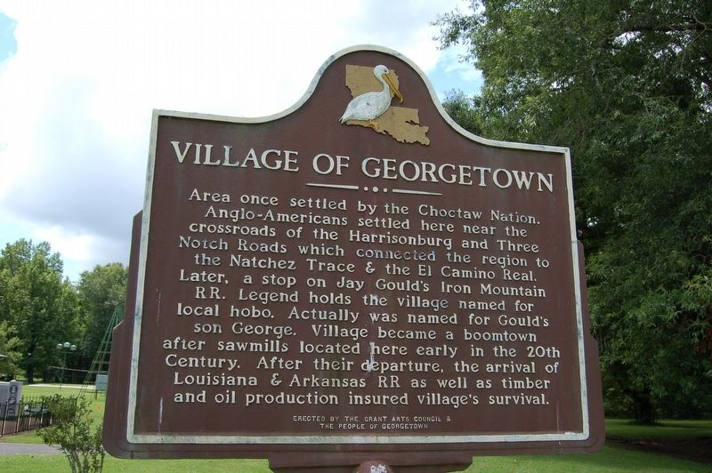 Village of Georgetown Marker image. Click for full size.