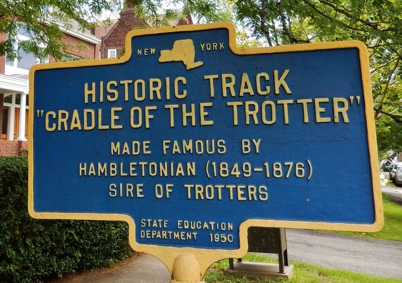 Historic Track Marker image. Click for full size.