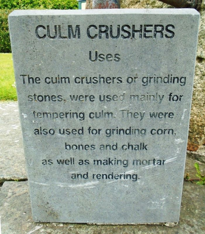 Culm Crushers Marker image. Click for full size.