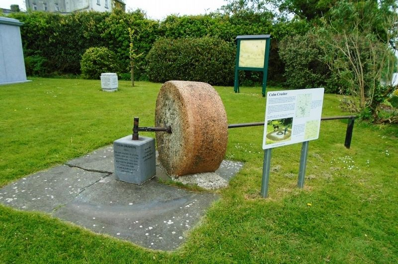 Culm Crusher and Markers image. Click for full size.