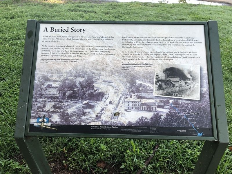A Buried Story Marker image. Click for full size.