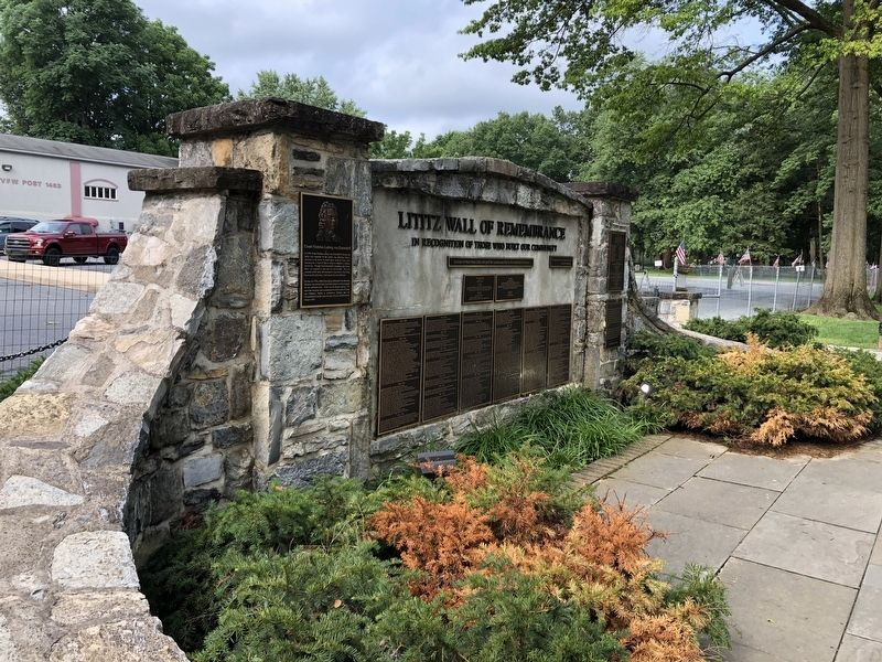 Lititz Wall of Remembrance image. Click for full size.