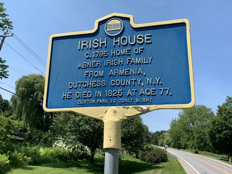 Irish House Marker image. Click for full size.