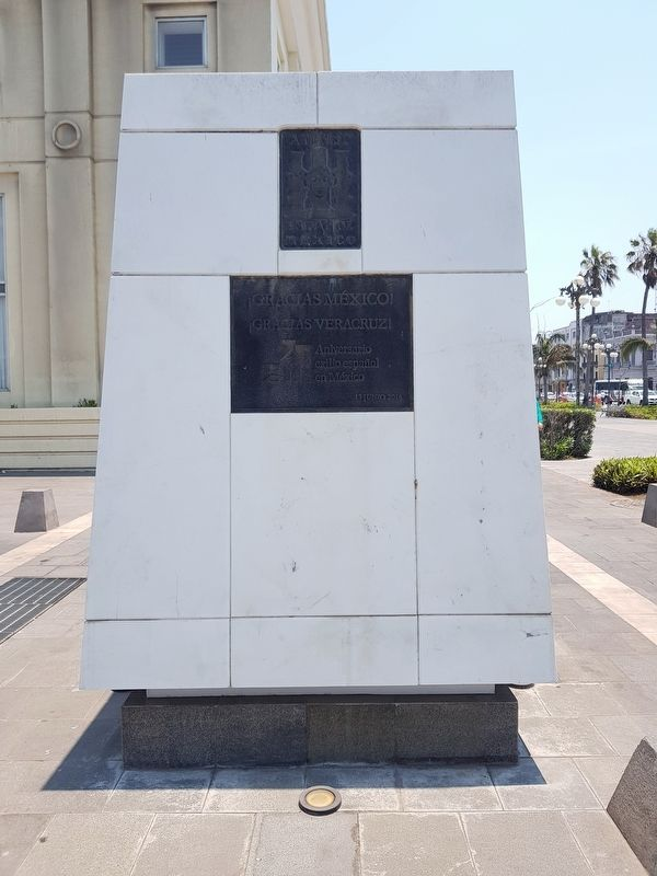 Monument to Spanish Exiles in Mexico Marker image. Click for full size.