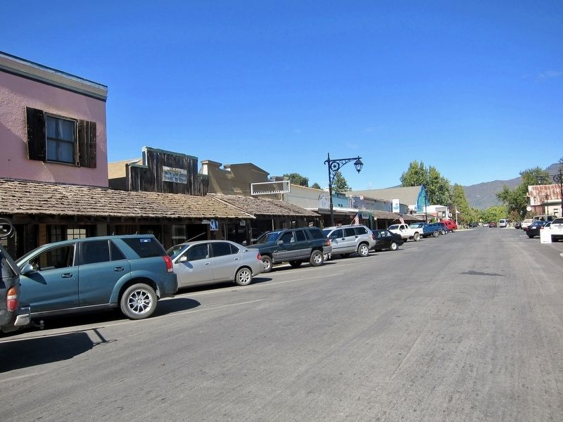 The West Side of Main Street - looking north on Main image. Click for full size.