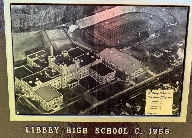 Edward Drummond Libbey High School Marker image. Click for full size.