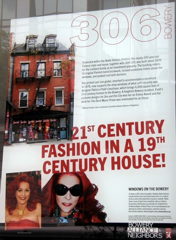 21st Century Fashion In A 21st Century House Marker image. Click for full size.