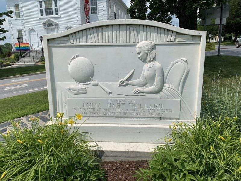 Emma Willard Memorial image. Click for full size.