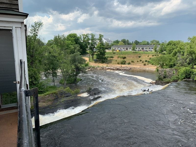 Middlebury Falls from Battell Bridge image. Click for full size.