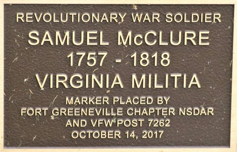 Samuel McClure Marker image. Click for full size.
