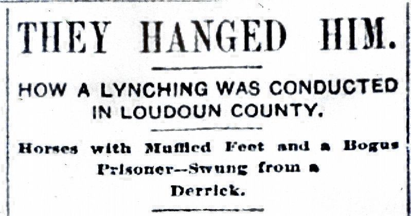 They Hanged Him. image. Click for full size.