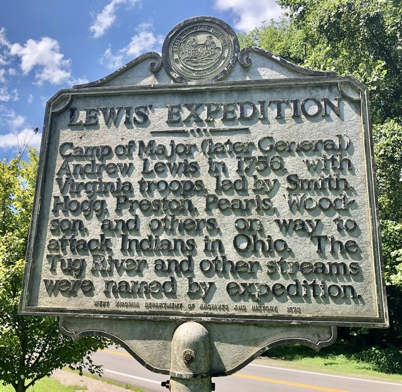 Lewis' Expedition Marker image. Click for full size.