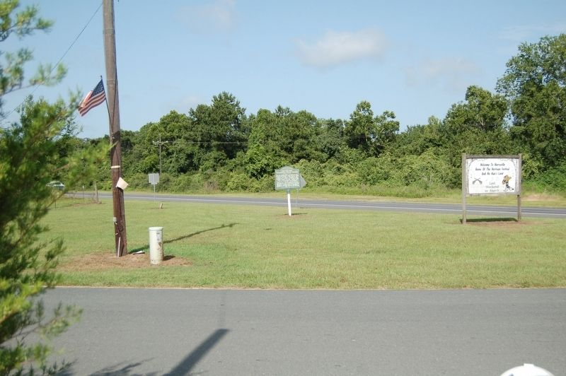 Site of the Coushatta Indian Village Marker image. Click for full size.