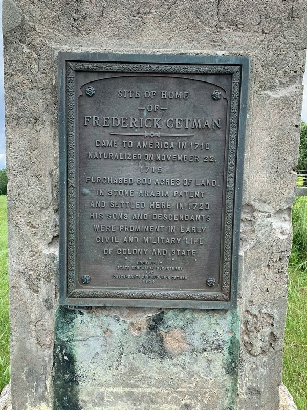 Frederick Getman Marker image. Click for full size.