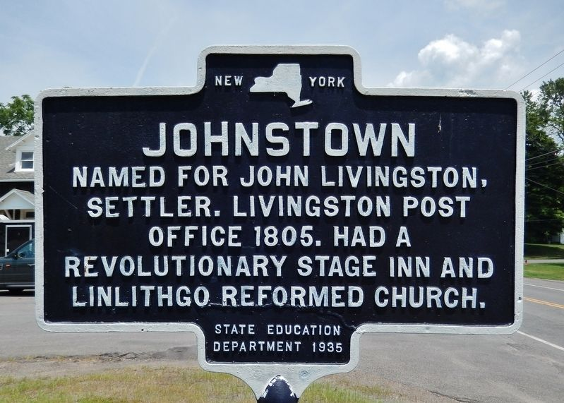 Johnstown Marker image. Click for full size.