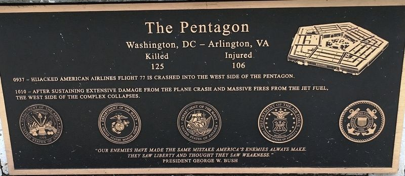 The Pentagon Marker image. Click for full size.