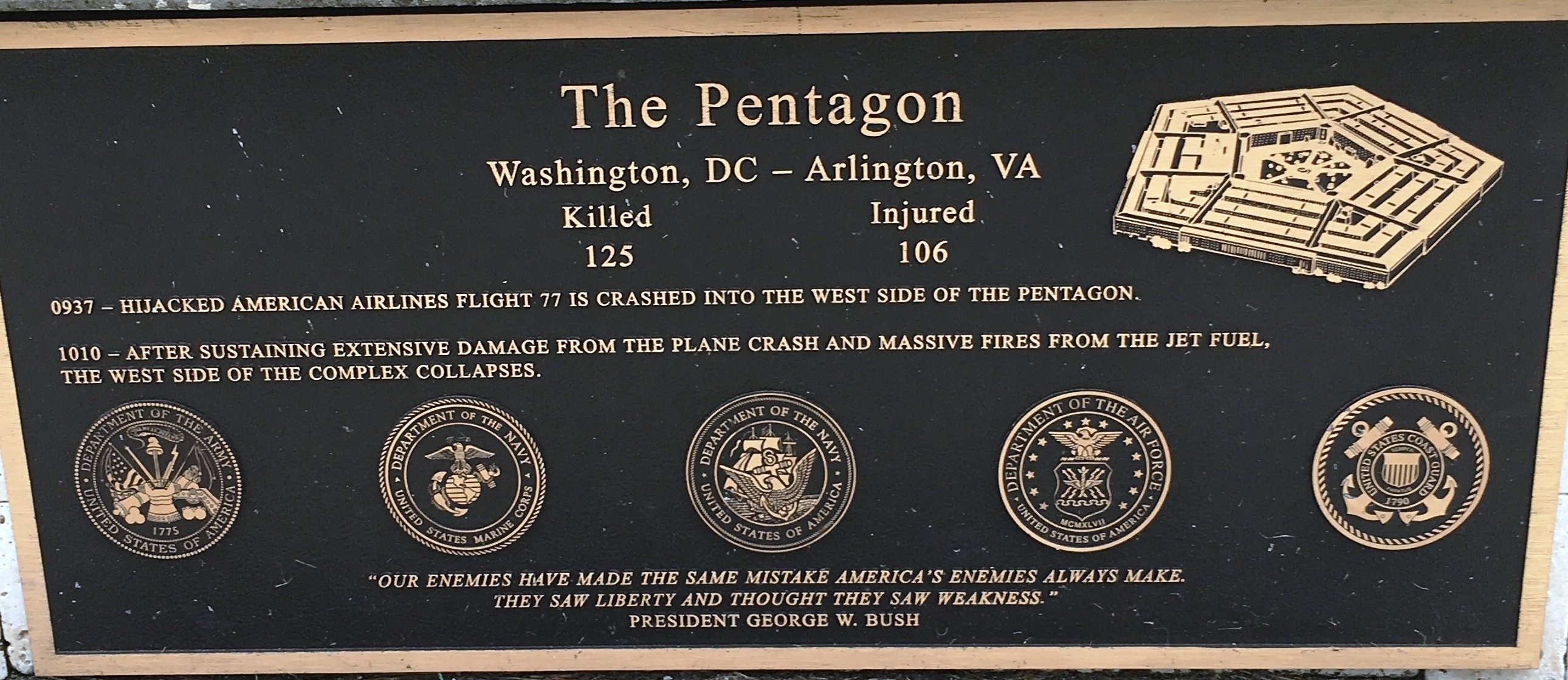 The Pentagon Marker