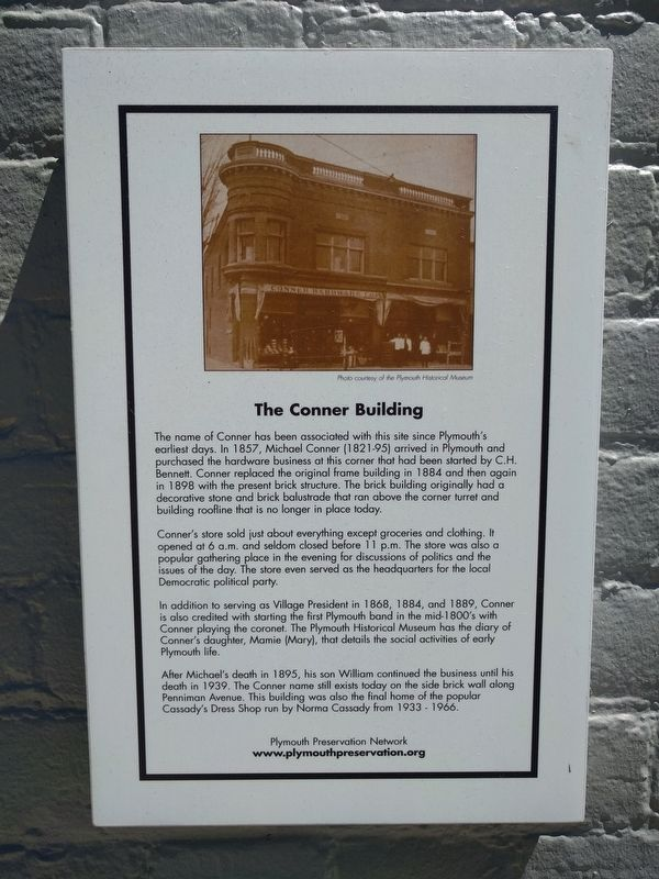 The Conner Building Marker image. Click for full size.