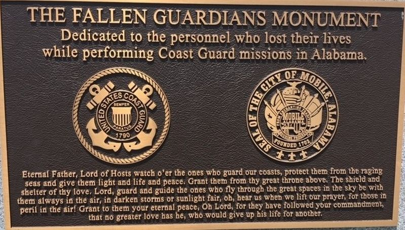 The Fallen Guardians Monument image. Click for full size.