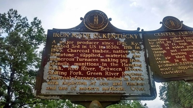 Empire Furnace Marker (Side 2) image. Click for full size.