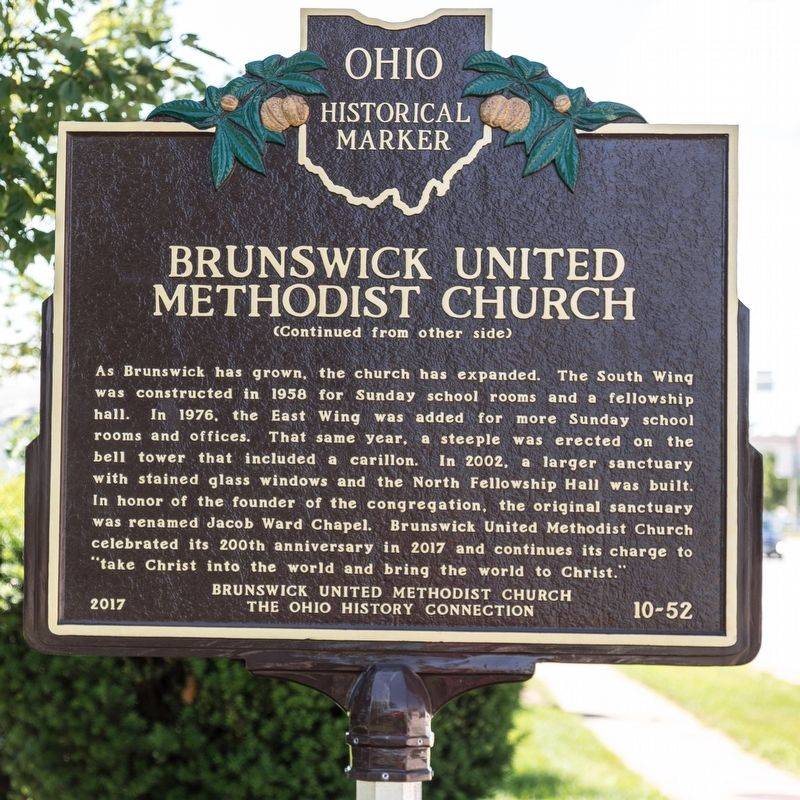 Brunswick United Methodist Church Marker image, Touch for more information