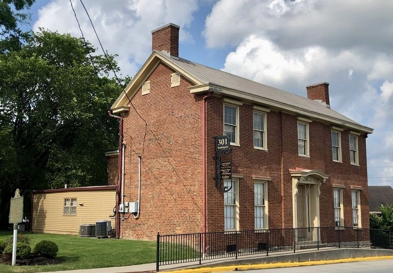Stanley-Casey House and Marker. image. Click for full size.