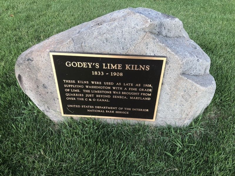 Godey's Lime Kilns Marker image. Click for full size.