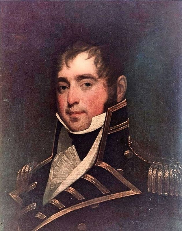 Captain James Lawrence (October 1, 1781 – June 4, 1813) image. Click for full size.