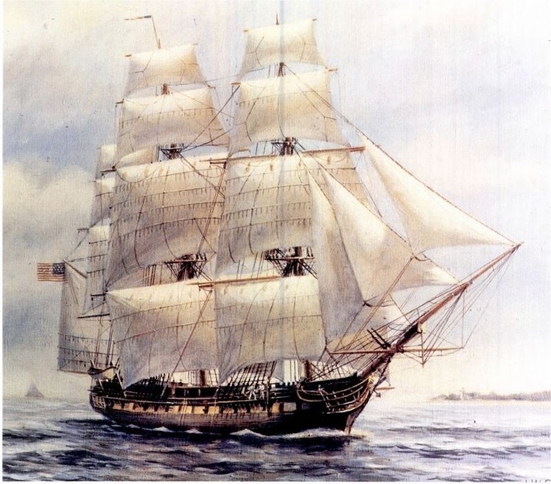 USS Chesapeake (1799) image. Click for full size.