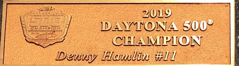61st Running Dayton 500 Marker image. Click for full size.