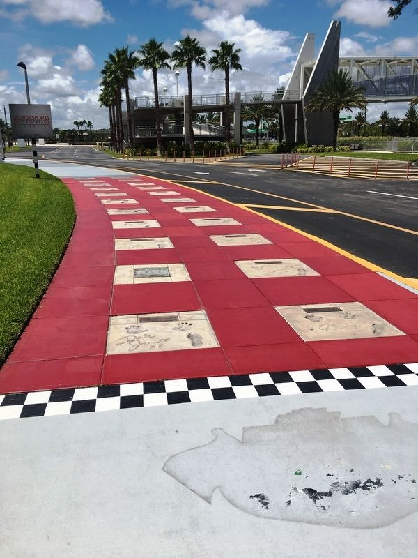 Daytona 500 Walk of Fame image. Click for full size.