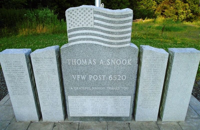 Thomas A. Snook VFW Post 6520 Veterans Memorial image. Click for full size.