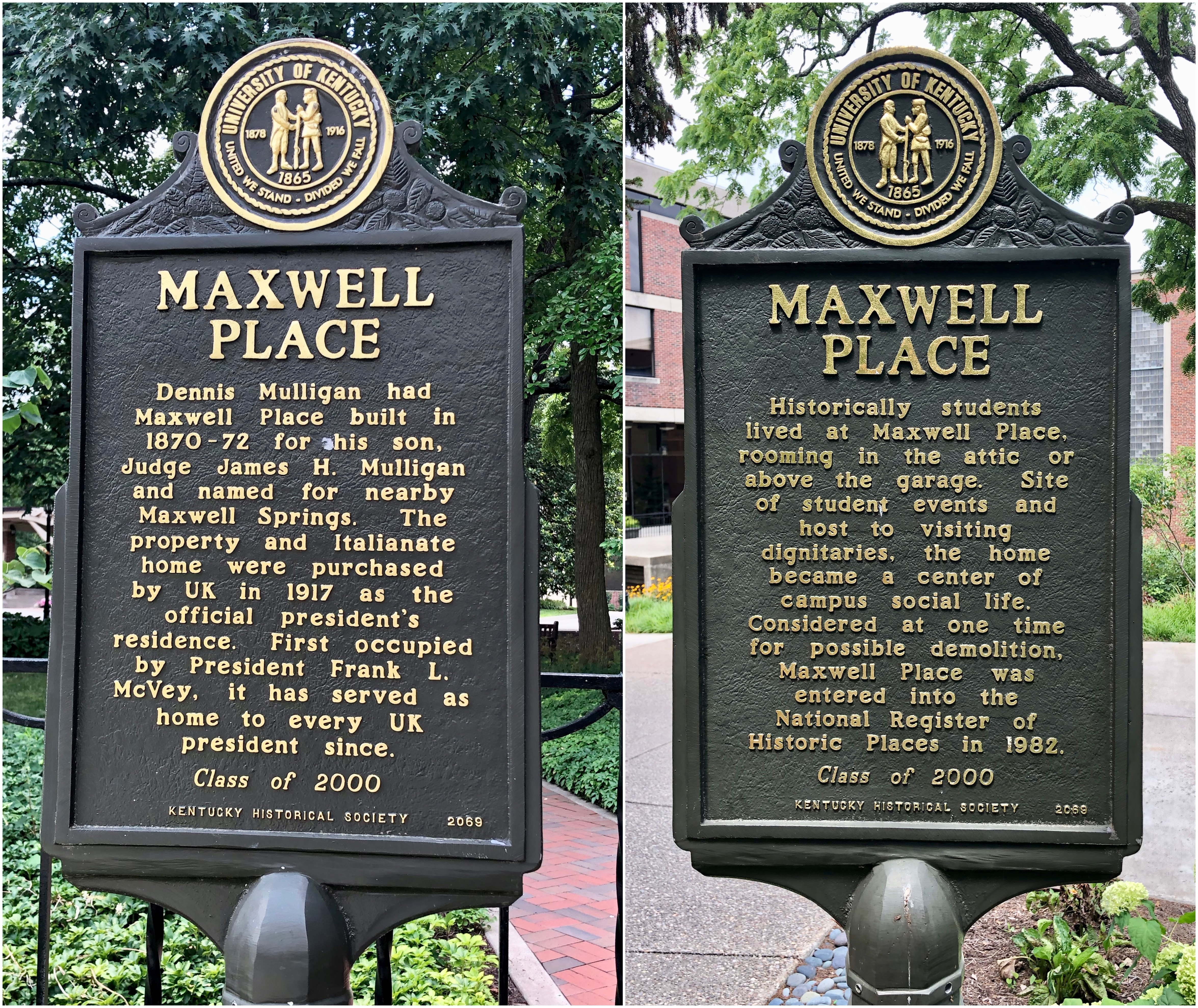 Maxwell Place Marker