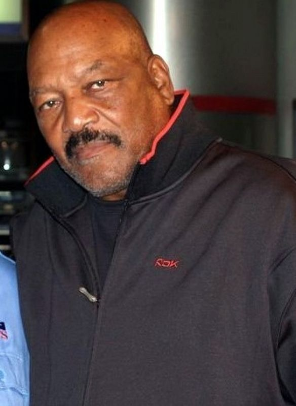 Jim Brown in 2007 image. Click for full size.