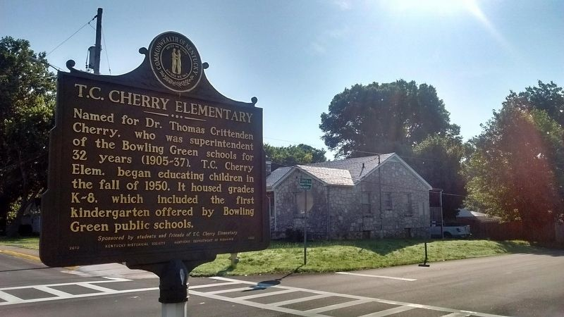 T. C. Cherry Elementary Marker image. Click for full size.