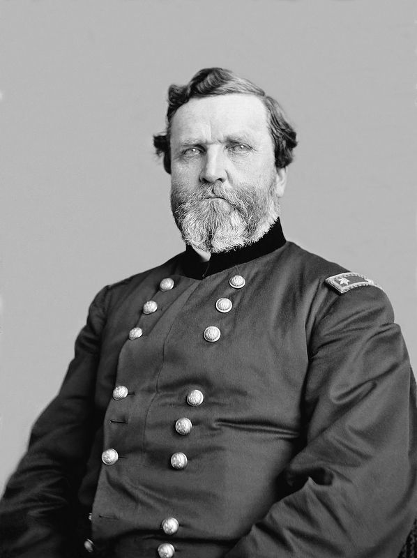 Union General George Henry Thomas (July 31, 1816 – March 28, 1870) image. Click for full size.