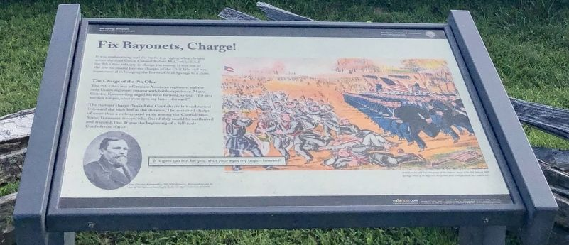 Fix Bayonets, Charge! Marker image. Click for full size.