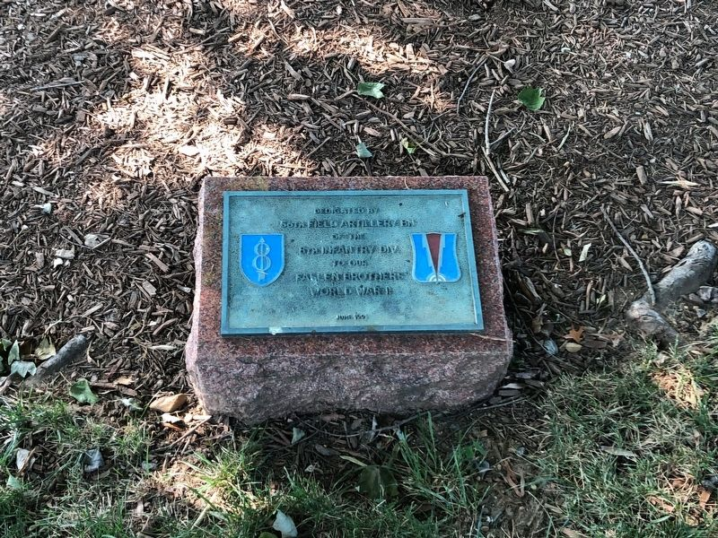 56th Field Artillery Bn Marker image. Click for full size.
