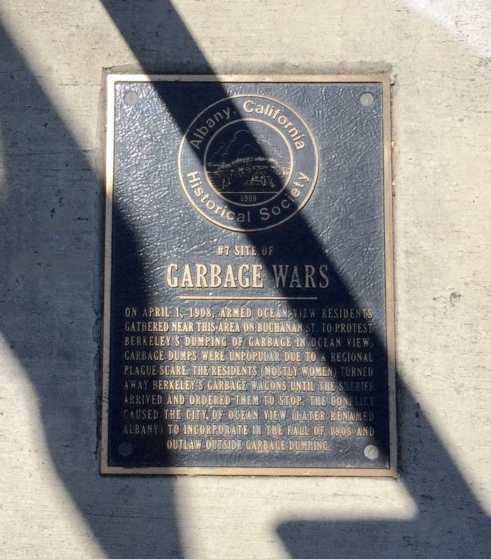 Garbage Wars Marker image. Click for full size.