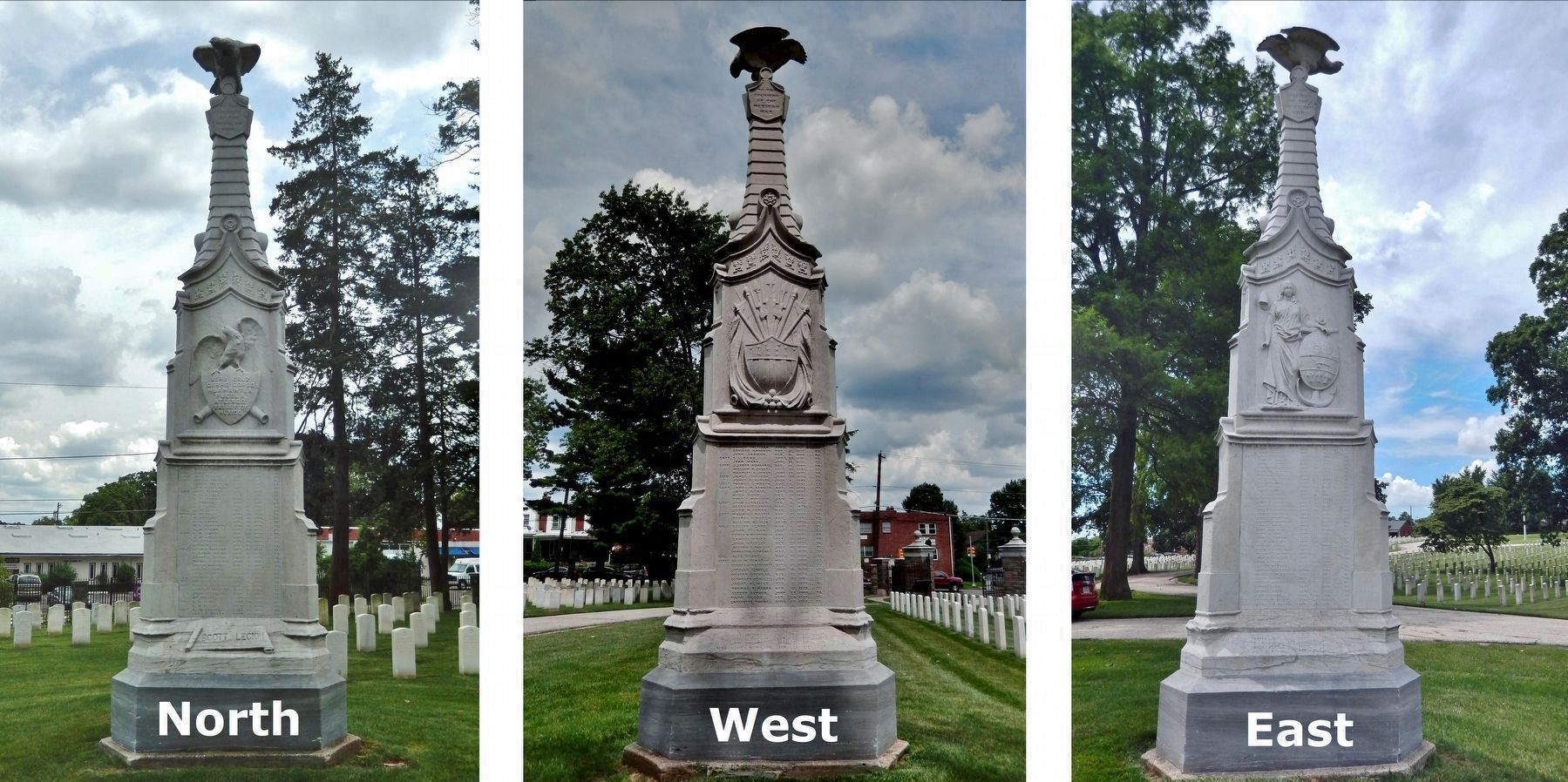 Mexican-American War Monument image. Click for full size.
