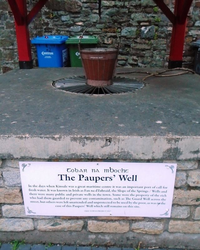 The Pauper's Well / Tobar na mbocht Marker image. Click for full size.